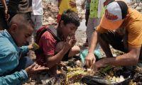 Kelaparan di Venezuela, Anak-anak Makan Sampah