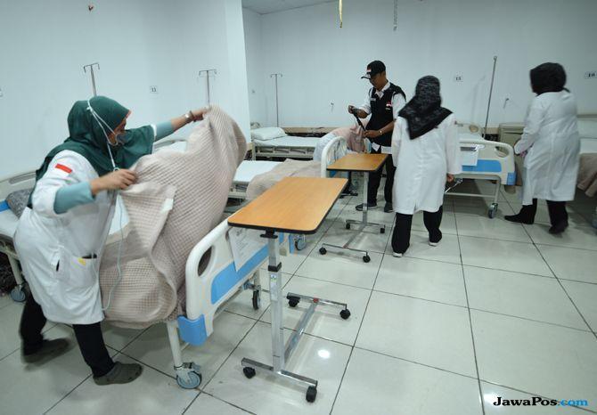 25 Calon Jamaah Haji Wafat, 33.510 Orang Dirawat Jalan