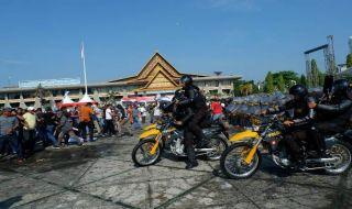 10.650 Personel Dikerahkan Amankan Pemilu Di Riau