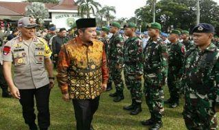 12 Ribu Personel Polisi dan TNI Disiagakan