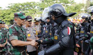 13 Ribu Personel Gabungan Siap Jaga Keamanan Pemilu di Sumut