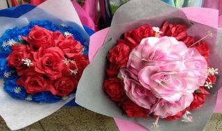 perayaan valentine, hari kasih sayang, bunga, rangkaian bunga, bunga valentine,