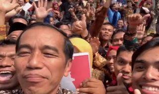 Jokowi Ngevlog