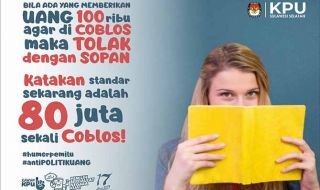 Poster KPU Sulsel