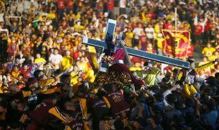 Black Nazarene, filipina, umat kristen,