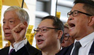 aktivis demokrasi, hongkong, cina,