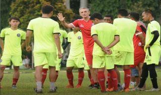 Alasan Arema FC Gelar Latihan di Kebun Raya