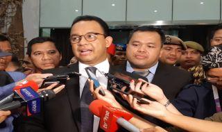 Anies Tegaskan Belum Ada Tarif Tidak Menghalangi Peresmian MRT
