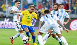 Laga uji coba, pertandingan persahabatan, Timnas Brasil, Timnas Argentina, Brasil vs Argentina