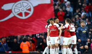 Premier League 2018-2019, Liga Inggris, Arsenal, Manchester United, Arsenal 2-0 Manchester United