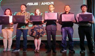 Asus VivoBook Pro F570, Asus amd nvdia, laptop Asus terbaru