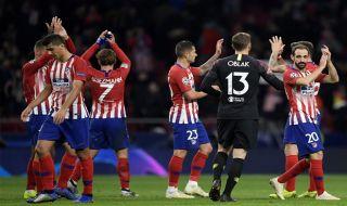 Liga champions 2018-2019, Babak 16 besar, Atletico Madrid, Juventus, Atletico Madrid 2-0 Juventus