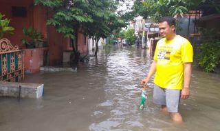 yang melanda Perumahan Taman Surya Agung, Sidoarjo,