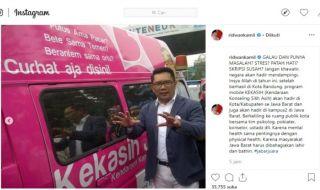 Bantu Waganya yang Galau, Ridwan Kamil Sediakan 'Kekasih'