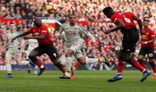 premier league 2018-2019, Liga Inggris, Manchester United, Liverpool, Manchester United 0-0 Liverpool