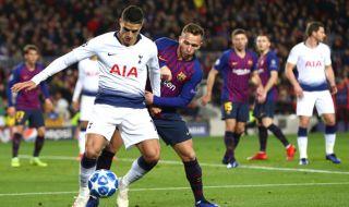 Liga Champions 2018-2019, Barcelona, Tottenham Hotspur, Barcelona 1-1 Tottenham hotspur