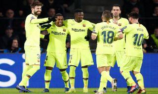 Liga Champions 2018-2019, PSV Eindhoven, Barcelona, PSV 1-2 Barcelona