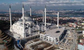 turki, masjid, masjid terbesar, erdogan,