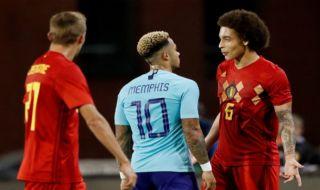 Laga uji coba, pertandingan persahabatan, Timnas Belanda, Timnas Belgia, Belgia vs Belanda