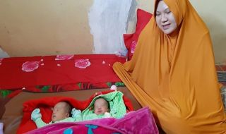 Diharapkan Tegas dan Tampan, Bayi Kembar Dinamai Prabowo-Sandiaga