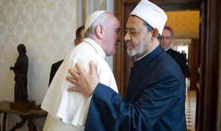 paus fransiskus, perdamaian, imam besar mesir, abu dhabi,
