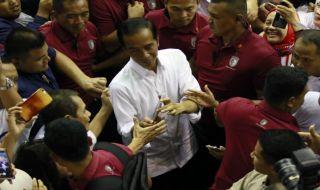 Bertandang ke Malang, Jokowi Minta Dirinya Difotokopi