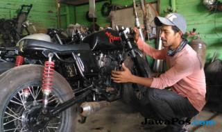 modifikasi motor klasik, bengkel modifikasi