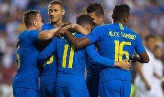 Laga persahabatan, Timnas Brasil, Timnas Argentina, Brasil 5-0 El Salvador, Kolombia 0-0 Argentina