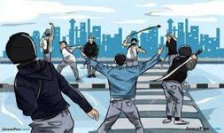Buat Tangan Warga Putus Sampai Luka Bacok, 17 Orang Ditangkap Polisi