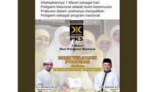 Catut PKS, Pembuat Hoax Bikin Hari Poligami Nasional