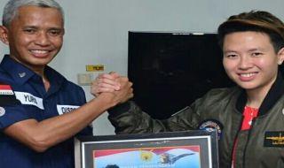 Liliyana natsir, Butet, TNI AU