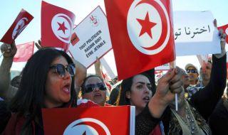 perempuan, cewek, cewek jomblo, unjuk rasa, tunisia, poligami,