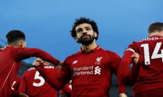 Premier league 2018-2019, Liga Inggris, Brighton & Hove Albion 0-1 Liverpool, Brighton & Hove Albion, Liverpool