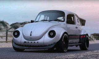 Dapat Jantung Baru, VW Mungil Berubah Jadi Mobil Racing Gahar