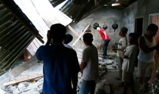 Data Sementara Gempa Solok Selatan: 329 Rumah Rusak, 48 Orang Terluka