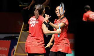 Malaysia Masters 2019, Della Destiara Haris/Virni Putri, Ni Ketut Mahadewi Istarani/Rizki Amelia Pradipta, bulu tangkis, Indonesia