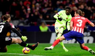 La Liga 2018-2019, Liga Spanyol, Atletico Madrid, Barcelona, Atletico Madrid 1-1 Barcelona