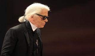 Karl Lagerfeld, perancang busana, jerman, prancis,