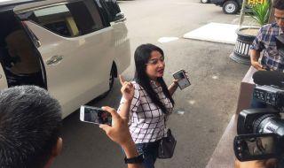 Dewi Persik Memenuhi Panggilan Polres Jakarta Selatan