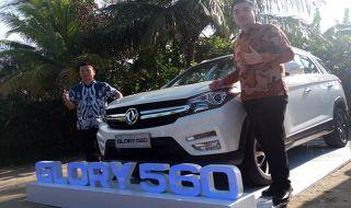 DFSK Resmi Perkenalkan SUV Compact Glory 560