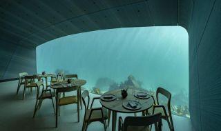 Di Norwegia Ada Restoran Bawah Laut Terbesar