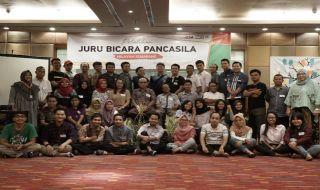 Pelatihan Jubir Pancasila