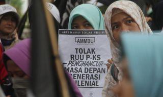 Dianggap Lindungi LGBT, Ratusan Massa di Medan Tolak RUU PKS