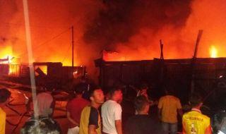 Pasar Tabing Padang Kebakaran