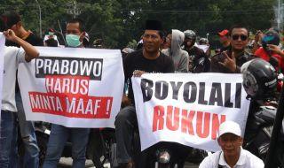 Protes Pidato Prabowo