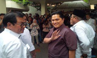 Erick Thohir, Jusuf Kalla, Ketum PSSI, PSSI, Istana Negara