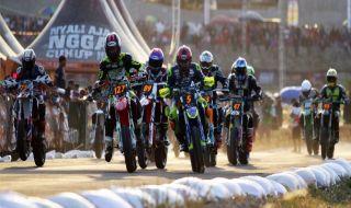Trial Game Asphalt, Doni Tata, Dimas Ekky, balap motor