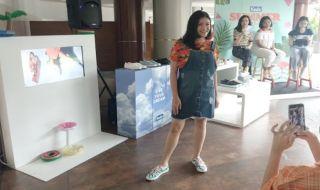 Dorong Semangat Perempuan Lewat Sepatu Penuh Warna