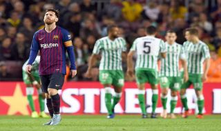 La Liga 2018-2019, Liga Spanyol, Barcelona, Real Betis, Barcelona kalah 4-3