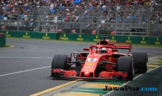 Formula 1, F1, Hasil GP Australia, Sebastian Vettel, LEwis Hamilton